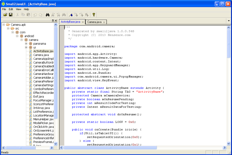 Decompile apk file to source code online | Decompile APK Get